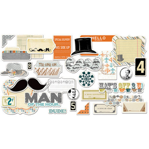 Fancy Pants Designs - Swagger Collection - Ephemera Pack