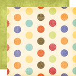Fancy Pants Designs - Rusted Sun Collection - 12 x 12 Double Sided Paper - Beach Ball