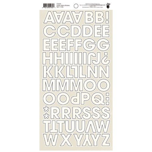 Fancy Pants Designs - Wonderful Day Collection - Cardstock Stickers - Alphabet