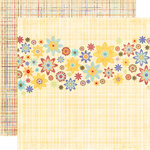 Fancy Pants Designs - Rusted Sun Collection - 12 x 12 Double Sided Paper - Pool Party