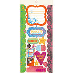 Fancy Pants Designs - About a Girl Collection - Cardstock Stickers - Element, CLEARANCE