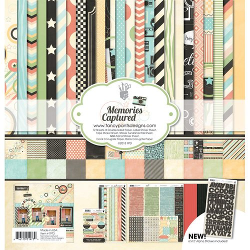 Fancy Pants Designs - Memories Captured Collection - Collection Kit
