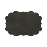 Fancy Pants Designs - Memories Captured Collection - Chalk Label Stickers - Scallop Bracket
