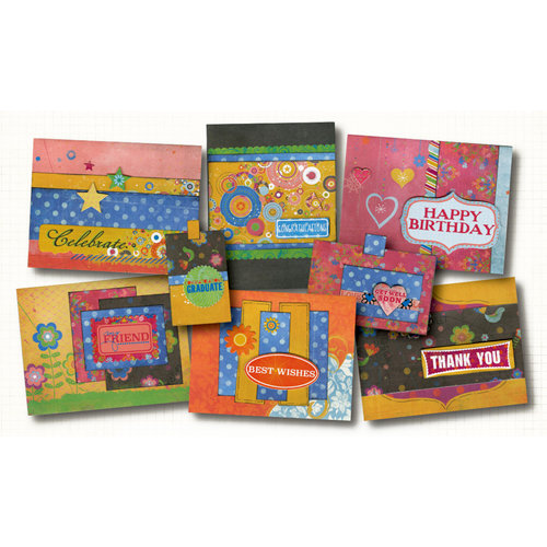 Fancy Pants Designs - About a Girl Collection - Card Kit