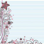 Fancy Pants Designs - About a Girl Collection - 12 x 12 Printed Transparent Overlays, CLEARANCE