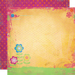 Fancy Pants Designs - About a Girl Collection - 12 x 12 Double Sided Paper - Megan