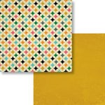 Fancy Pants Designs - As You Wish Collection - 12 x 12 Double Sided Paper - Quilt Work