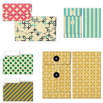 Fancy Pants Designs - As You Wish Collection - Patterned Envelopes