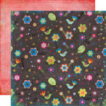 Fancy Pants Designs - About a Girl Collection - 12 x 12 Double Sided Paper - Kenley