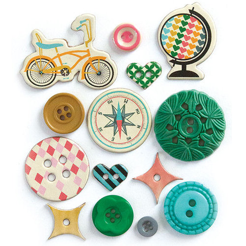 Fancy Pants Designs - As You Wish Collection - Button Set