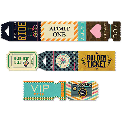 Fancy Pants Designs - As You Wish Collection - Ticket Roll