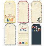 Fancy Pants Designs - Nautical Collection - Decorative Tags - Large