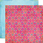 Fancy Pants Designs - About a Girl Collection - 12 x 12 Double Sided Paper - Bella