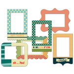 Fancy Pants Designs - Be Different Collection - Patterned Photo Frames