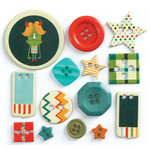 Fancy Pants Designs - Be Different Collection - Button Set