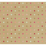 Fancy Pants Designs - Vintage Valentine Collection - 12 x 12 Kraft Paper - Pure Love , CLEARANCE