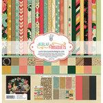 Fancy Pants Designs - Burlap and Bouquets Collection - 12 x 12 Collection Kit