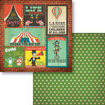 Fancy Pants Designs - Everyday Circus Collection - 12 x 12 Double Sided Paper - Posters
