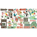 Fancy Pants Designs - Everyday Circus Collection - Ephemera Pack