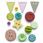 Fancy Pants Designs - Everyday Circus Collection - Button Set