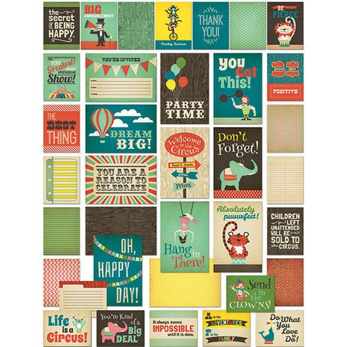 Fancy Pants Designs - Everyday Circus Collection - Brag Cards