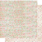 Fancy Pants Designs - Vintage Valentine Collection - 12 x 12 Double Sided Paper - Will You, CLEARANCE