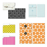 Fancy Pants Designs - Me-ology Collection - Patterned Envelopes and Folders