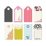 Fancy Pants Designs - Me-ology Collection - Decorative Tags - Small