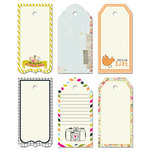Fancy Pants Designs - Me-ology Collection - Decorative Tags - Large