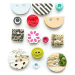 Fancy Pants Designs - Me-ology Collection - Button Set