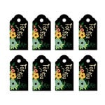 Fancy Pants Designs - Burlap and Bouquets Collection - Party Kit Tags - For You