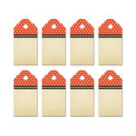 Fancy Pants Designs - Everyday Circus Collection - Party Kit Tags - Stars