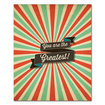 Fancy Pants Designs - 8 x 10 Cardstock Print - You Are The Greatest