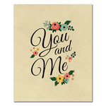 Fancy Pants Designs - 8 x 10 Cardstock Print - You and Me