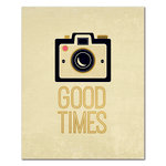 Fancy Pants Designs - 8 x 10 Cardstock Print with Foil Accents - Good Times