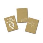 Fancy Pants Designs - Mini Kraft Journal Three - 3 Pack