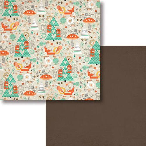 Fancy Pants Designs - True Friend Collection - 12 x 12 Double Sided Paper - Besties