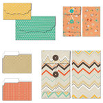 Fancy Pants Designs - True Friend Collection - Patterned Envelopes and Folders