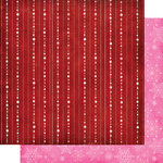 Fancy Pants Designs - Frosted Collection - Christmas - 12 x 12 Double Sided Paper - String of Snow