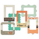 Fancy Pants Designs - True Friend Collection - Patterned Photo Frames