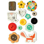 Fancy Pants Designs - True Friend Collection - Button Set