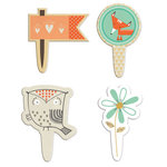 Fancy Pants Designs - True Friend Collection - Toppers