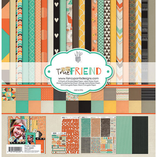 Fancy Pants Designs - True Friend Collection - 12 x 12 Collection Kit