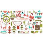 Fancy Pants Designs - Oh, Deer Collection - Christmas - Ephemera Pack