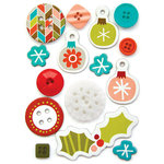 Fancy Pants Designs - Oh, Deer Collection - Christmas - Button Set