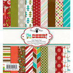 Fancy Pants Designs - Oh, Deer Collection - Christmas - 6 x 6 Paper Pad