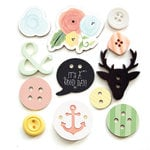 Fancy Pants Designs - Office Suite Collection - Button Mix