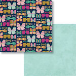 Fancy Pants Designs - Flutter Collection - 12 x 12 Double Sided Paper - Flutterby