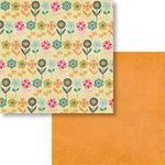 Fancy Pants Designs - Flutter Collection - 12 x 12 Double Sided Paper - Meadow