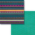 Fancy Pants Designs - Flutter Collection - 12 x 12 Double Sided Paper - Wings